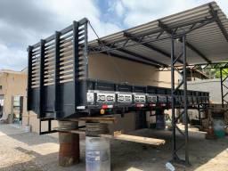 Carroceria de madeira 8 metros