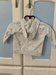 Vestidos e casaquinho bebê menina