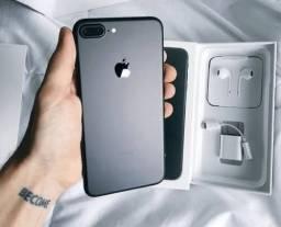 iPhone 7 Plus preto matte 256GB ( aceito ofertas )