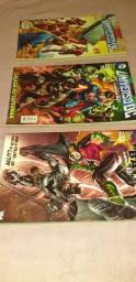 quadrinhos DC Comics os Novos 52 edições 41, 42 e 43