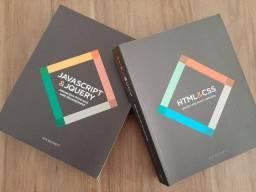 Livro 1: HTML & CSS / Livro 2: Javascript & Jquery - Jon Duckett