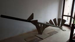 Escada de ferro caracol
