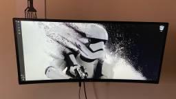 34UC79G-B Monitor IPS 21:9 UltraWide? Curvo com 144 Hz e 1ms Motion Blur Reduction