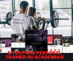 Sites para personal trainer ou academias