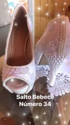 Sapato Customizado para noivas