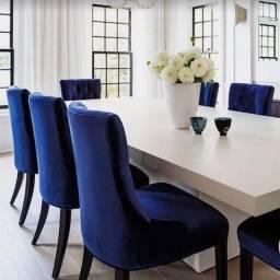 Mesa de Jantar em Auto Estilo e Luxo