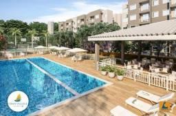 SI - Apartamento no melhor do Eusébio, 2 quartos, 2 banheiros, varanda, clube completo