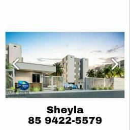 Apartamento Vida Nova bem localizado na Messejana.