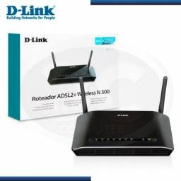 Modem ADSL2+ D-Link DSL-2740E 300Mbps 4Lan