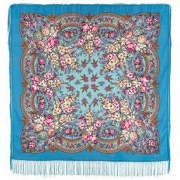 Xale de lã Russia