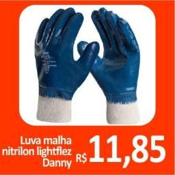 Luva malha nitrilon lightflex Danny - Promoção= R$ 11,85
