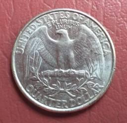 Título do anúncio: quarter dollar 1995 letra P