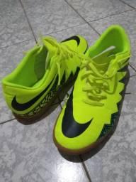Tênis Nike Hypervenom Phelon Verde Limão / Preto