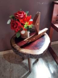 Mesa-banco para sala..