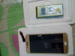 Tela e bateria G5 PLUS