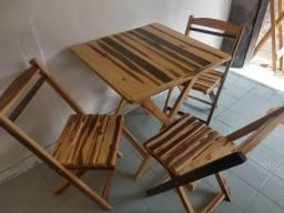 Mesa e cadeiras (Bar, restaurante ou lanchonete)