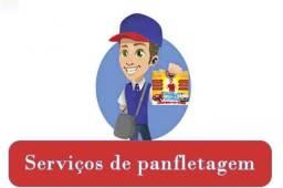Serviços de panfletagem