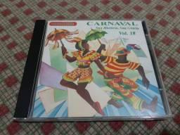 Cd Carnaval - Sua História, Sua Glória Vol. 18 - Revivendo - Ótimo Estado