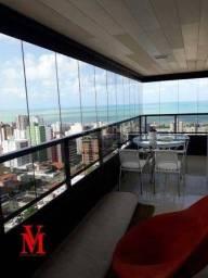 Apartamento com 4 dormitórios à venda, 254 m² por R$ 1.300.000 - Manaíra - João Pessoa/PB