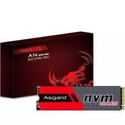 SSD Asgard 256gb m2 nvme 12x sem juros