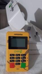 Máquina de cartão de crédito e débito (não precisa de celular)