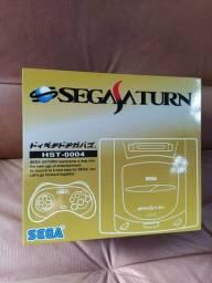 Caixa Sega Saturn - vazia somente a caixa.