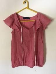 Blusa Rosa - Zara Basic