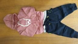 Blusa de moletom infantil Masculina