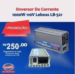Inversor De Corrente 1000W 110V Leboss LB-521 ? Entrega grátis