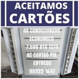 Título do anúncio: Ar Condicionado 7.500 Btu 110V Classe A Ac Cartão 5x Pix
