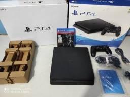 Playstation slim 1tb novo na caixa com nota e garantia
