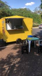 Food Truck carrinho de lanche salgados