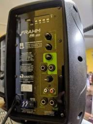 Caixas ativa mais passiva Frahm