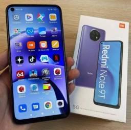 Celular Xiaomi Redmi Note 9T 5G - 128GB Rom ou 64GB Rom Global + Capinha e Película
