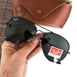 Oculos rayban aviador, rb3447 e hexagonal
