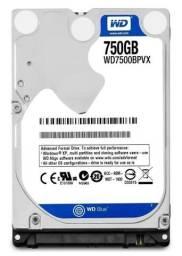 HD 750GB 2.5 notebook WD