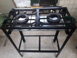 400 fogão industrial novo na caixa