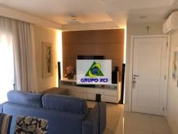 Apartamento com 3 dormitórios à venda, 96 m² por R$ 848.000 - Parque Rural Fazenda Santa C