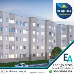 EMV - More em Camaragibe - Conquista Camaragibe - 02 Quartos com Piscina e Elevador