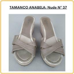 Tamanco Anabela - Tam: 37