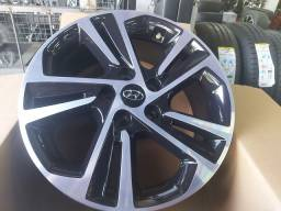Roda Creta aro 17 Black diamantada