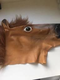 Máscara de Unicórnio e Cavalo
