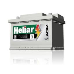 Bateria Heliar Agm 70ah    24 meses garantia   bmw x1 creta 2.0 c180 xc60