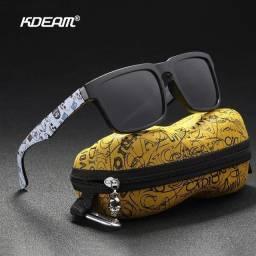 Óculos de Sol Kdeam Polarizado Original Aceito Cartão!