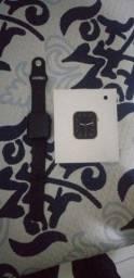 Título do anúncio: Vendo relógio smartchaw novo pouca marca de uso