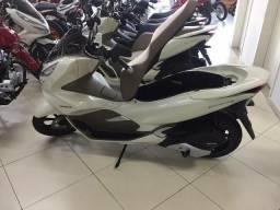 Honda Pcx Dlx 2021 / 0km Branca E Caramelo