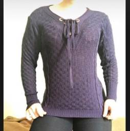 Blusa lã fina