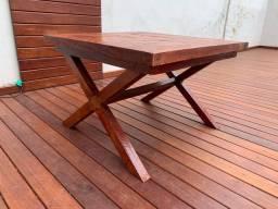 Vendo mesa de madeira tamarindo