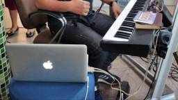 Xps10+macbookpró+placadeaudio!!!aceito troca em piano digital