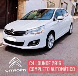 Citröen c4 lounge tendence completo automático 2016 * Ipva 2021 pago*